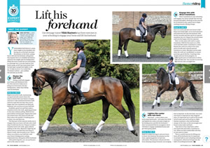 Your Horse September_2016 Lift His Forehand
